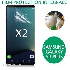 Lot de 2 Films Protection Total Entier Pour Écran Incurvé Samsung Galaxy S9 PLUS