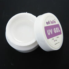 3 X 1/2oz CLEAR UV GEL for NAIL ART Tips Manicure Tools Set Builder Polish