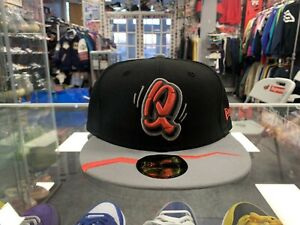 Rancho Cucamonga Quakes Minor League Baseball Fitted Hat Size 7 7/8 Vintage Vtg