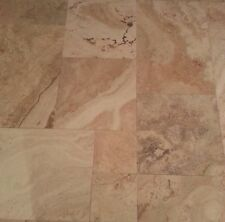 New Brushed French Pattern Travertine Tumbled Pavers 30mm Thick Tile Premium