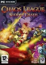 Chaos League Sudden Death + Chaos League (PC CD Game) *NEW* **READ BELOW**