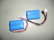 2 Stück  Akku 1500mAh 7,4 V für H8 PRO 8827, PIONEER MX 8827, 8828, DH 9097