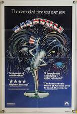 NASHVILLE FF ORIG 1SH MOVIE POSTER ROBERT ALTMAN KAREN BLACK LILY TOMLIN (1975)