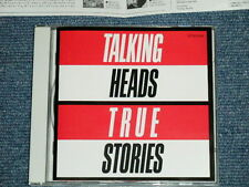 TALKING HEADS Japan 1st Issued Version 1986 CP32-5161 NM CD TRUE STORIES