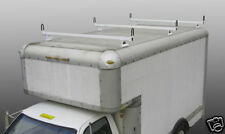 "BOX Truck CUBE van 3pc Ladder Van Rack System (BLACK) 84"" width"