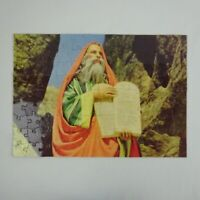 Vintage Little Giant Bible Picture 108 Piece Puzzle Mosses with the Law
