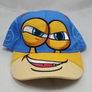 DreamWorks TURBO Movie Racing Team Baseball Cap Snail Eyeballs Hat Licensed NWT