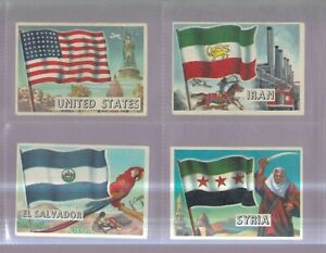 A&BC SET:   FLAGS OF THE WORLD   1959
