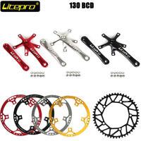 Litepro Road Bike 130BCD Round Chainring 45t-58t Aluminum Alloy 170mm Crankset