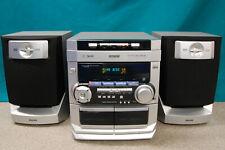 Philips FW-C220/22, HiFi Stereo Kompaktanlage, 3 fach CD Wechsler, Mini HiFi