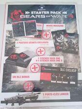 Gears Of War 4 : Starter Pack/Artbook/DLC FR [Collector - XboxOne/PC]