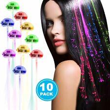 10 Pack flash led light up toys Optics led hair lights, flashing Light for Party