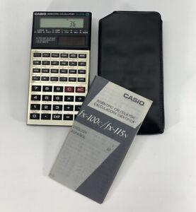 Casio Scientific Calculator fx-115N Solar Handheld Pocket