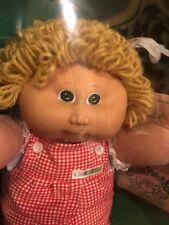 Coleco 1984 Cabbage Patch Kids Doll 3900 Maria Cecilia