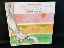 Virgil Thomson /Leopold Stokowski–The Plow That Broke The Plains VSD 2095 LP