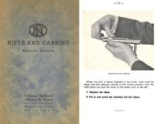FN Rifle & Carbine- Mauser System Manual c1930s