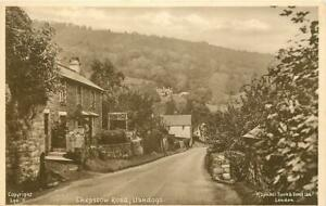 Llandogo Wales View Of Chepstow Road OLD PHOTO