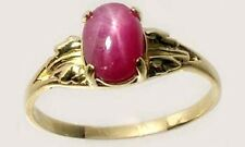 Star Ruby Gold Ring 2¾ct Antique 18thC Gem of Medieval Shaman Divination 18kt
