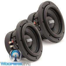 "(2) SUNDOWN AUDIO SA-6.5 SW D4 6.5"" SUBS 200W RMS DUAL 4-OHM SUBWOOFERS SPEAKERS"