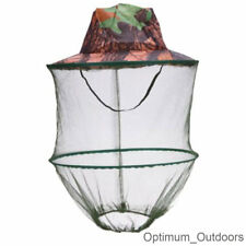 Real Tree Camo Mosquito Net Hat Insect Midge Wasp Bug Head Face Mesh Bee  Keeping a47bb5995fd