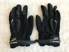 Alpinestars Pressure Vented Motorcycle Racing Gloves Black Pair X Large XL