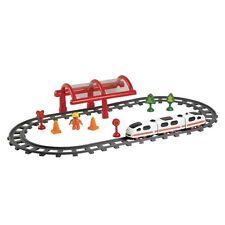 Treno Locomotiva Dei Piccoli Bambini con Musica Pista ad Alta Velocità 102 cm