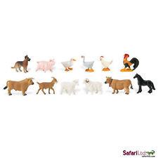 Farm toob/Safari Ltd/toob/dog/pig/duck/goose/hen/rooster/goat/horse/ram/ewe