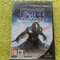 STAR WARS THE FORCE UNLEASHED ULTIMATE SITH EDITION APPLE MAC ( new & sealed )