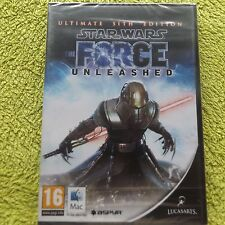 Star Wars The Force Unleashed Ultimate Sith Edition Apple Mac (Neu & Versiegelt)