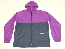 RARE COLOUR PETER STORM UK MADE CAGOULE HIKING JACKET ANORAK 80s CASUALS VTG M L
