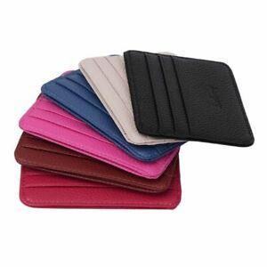 Wallet Simple Classics Men Business Pocket Slim Thin ID Credit Card Money Holder