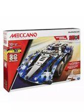 Meccano 25-In-1 Model Super Car Motorized Steam Experienced Construction Toy Set