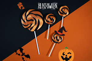 Halloween Lollipops Sweets Trick or Treat Party Favours Halloween Gifts Lollies