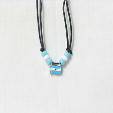 ARGENTINA COUNTRY FLAG SMALL METAL NECKLACE CHOKER .. NEW