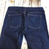 J Crew Matchstick Jeans 28 Short dark blue skinny