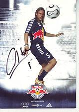 FOOTBALL carte joueur EZEQUIEL ALEJO CARBONI équipe SV SALZBURG signée