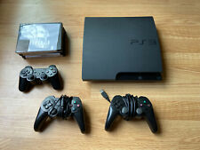 Sony PlayStation 3 Slim Bundle PS3 CECH 3001B With 3 Controllers 4 Games 320 GB