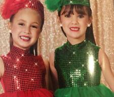 Christmas  Dance Costume Green Ballet St. Patrick's Day Pageant demand 2014