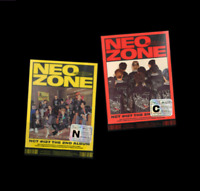 "K-POP NCT 127 2nd ALBUM ""NCT #127 Neo Zone"" [ 1 PHOTOBOOK + 1 CD ] C VER"