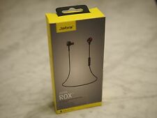 Jabra ROX Black In-Ear Bluetooth Wireless Sports Workout Earbud Earphones NEW