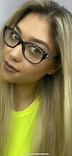New Versace Mod. 6831-B 699 Gray Tortoise 52mm Women's Eyeglasses Italy