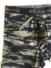 NWT COLUMBIA PERFORMANCE STRETCH BEETLE BLACK CAMOUFLAGE  BOXER MEN'S SIZE XXL