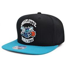 Charlotte Hornets Mitchell & Ness Team 2Tone Flex Fit 110 Snapback NBA Hat