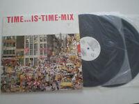 TIME IS...TIME MIX RARE SPAIN 2XLP ITALO DISCO 1987 EX K. BAND MAX COVERI ATRIUM