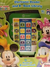 Mickey Mouse Club House Electronic Reader and8-Book Library
