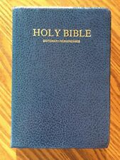 KJV Hold Bible with Study Helps Dictionary/Concordance Red Letter Edition 1985