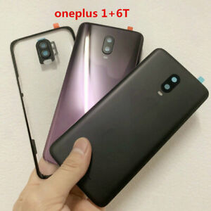 New Glass Rear Housing Battery Door Cover Panel Replacement For Oneplus 6T