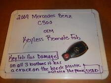 2009 Mercedes Benz C 300/C Class  OEM KeyLess Remote Fob