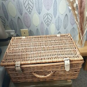 TODHUNTER Tod Hunter England - 2 Person Empty Wicker Picnic Basket