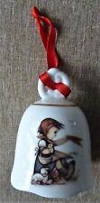 M.J. Hummel Porzellan Porcelain Bell Ornament Goebel Germany
